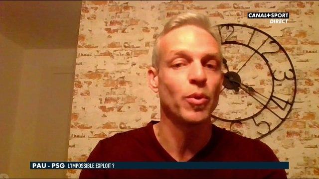 Bruno Irlès, consultant du Late et coach de Pau sur l'intensité lors de Pau/PSG - Late Football Club