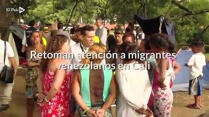 La Alcaldía de Cali retoma la atención a migrantes venezolanos
