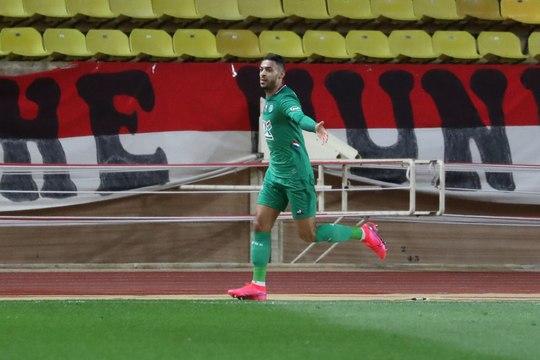 Bouanga, un retour qui tombe à pic pour les Verts - Foot - Coupe de France