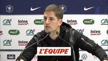 Moreno «L'équipe a fait ce que je lui ai demandé» - Foot - Coupe - ASM
