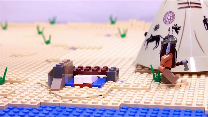 Lego western stopmotion 79107 review