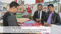 Jute bag shows Bangladesh way out of plastic pollution