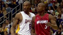 "Dwyane Wade on Kobe Bryant ""I Broke His Nose & He Went PSYCHO & Said ""I love it""!"