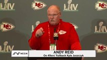 Chiefs Head Coach Andy Reid On Importance Of Fullback Position