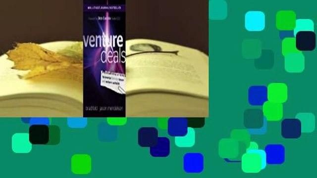 Full E-book  Venture Deals  For Kindle