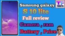 samsung galaxy s10 lite review | samsung galaxy s10 lite price in india | samsung galaxy s10 lite introduction |   samsung galaxy s10 lite features  #Tecnicalfree #TecnicalAajad