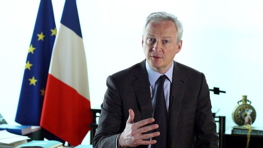 Ouverture des Entretiens du Trésor par Bruno Le Maire, le 29 janvier 2020