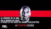 """Mort de Kobe Bryant : Le magnifique hommage de l'AC Milan au """"Black Mamba"""""""