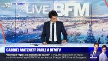 Gabriel Matzneff parle à BFMTV - 29/01