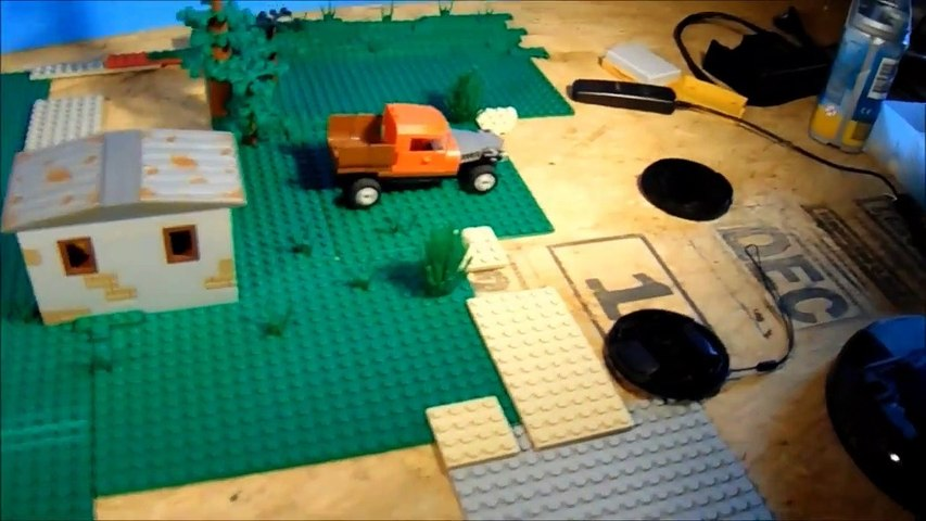 Behind the Scenes Lego Police Chase