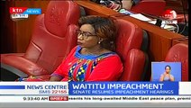Senate resumes Waititu's impeachment hearing as he pleads for fair hearing