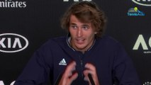 "Open d'Australie 2020 - Alexander Zverev : ""Paying back the 4 million is not a problem"""
