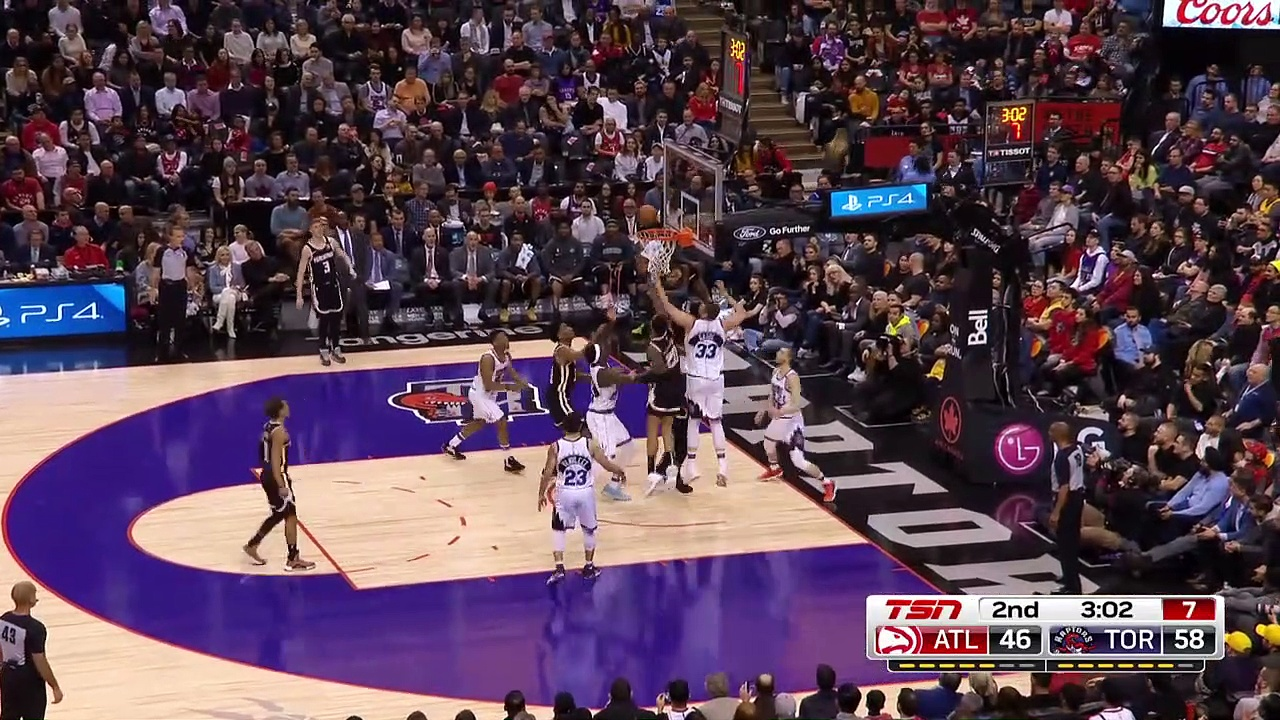 Atlanta Hawks 114 - 130 Toronto Raptors