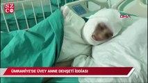 Ümraniye'de üvey anne şiddeti iddiası