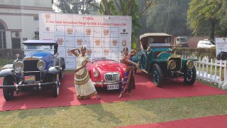 Vintage cars to embark on Indian heritage rally