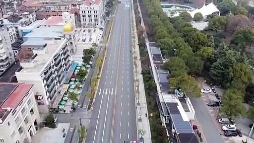 """Drone mostra a """"cidade fantasma"""" de Wuhan… o epicentro do coronavírus"""