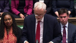 'Repetition!' Corbyn and PM pay tribute to Nicholas Parsons