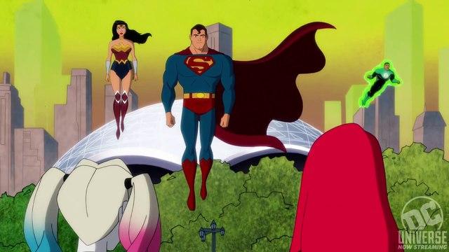 Harley Quinn (DC Universe) Justice League Promo (2020) Kaley Cuoco DC Universe series