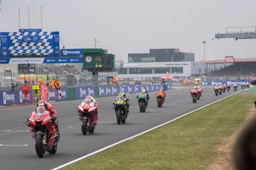 Die Le Mans-Rennstrecke