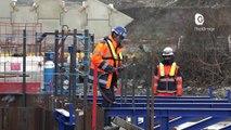 Reportage - Après un an de travaux, le chantier de l'A480 suit son cours
