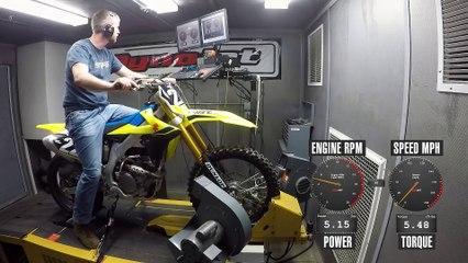2020 Suzuki RM-Z250 Dyno Test