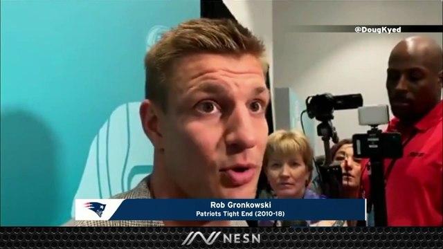 Rob Gronkowski Believes Tom Brady Should Test NFL Free Agency