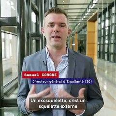 Grande expo du Fabriqué en France   L'exosquelette par ErgoSanté
