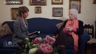 Liliana Segre: Auschwitz survivor talks about her experience