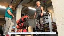 AVIRON INDOOR A 86 ans Madeleine participe aux championnats du monde