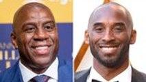 Magic Johnson Pays Tribute to Kobe Bryant on 'Jimmy Kimmel Live!' | THR News