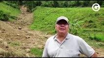 Professor conta em detalhes como fez para sobreviver a deslizamento de terra em Muniz Freire