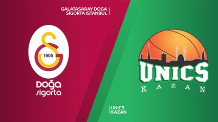 7Days EuroCup Highlights Top 16, Round 4: Galatasaray 90-76 UNICS