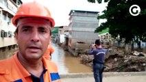 Demolição de prédio em Iconha
