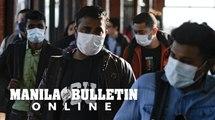Coronavirus: Students wear face masks to school in Nepal
