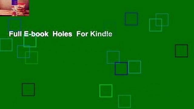 Full E-book  Holes  For Kindle