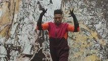 Dancer Omari Mizrahi on Mark Bradford's Duck Walk   Met Collects