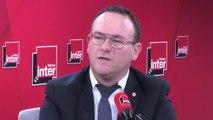 """Pour Damien Abad, président des députés LR, la circulaire Castaner sur les municipales, """"c'est museler la France des territoires qui n'est pas une France macroniste (...), c'est altérer la sincérité du scrutin"""""""
