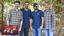Ram Charan & Jr NTR Special Pic With Ajay Devgn | RRR | SS Rajamouli
