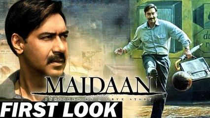 MAIDAAN _AJAY DEVGN _ FIRST LOOK