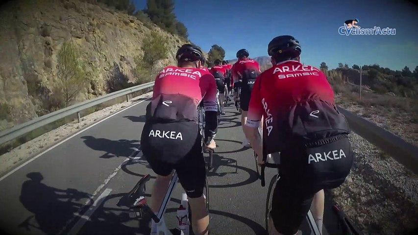 """Cyclism'Actu On Board 2020 -  Avec """"les mécanos au boulot"""" de la formation Arkéa-Samsic"""