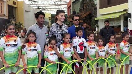 Urvashi Rautela At The Grand Event Of Roller Skating Hoola Hoop