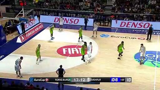 Tofaş 91 - 76 Joventut Badalona | Maç Özeti - EuroCup Top 16 - 4. Hafta