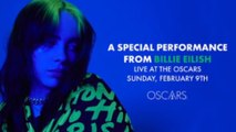 Billie Eilish to perform at the Oscars