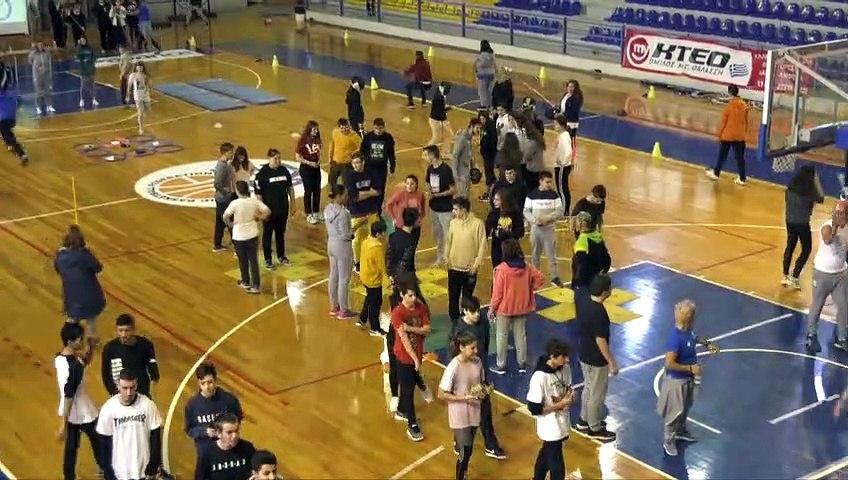 Βιωματική αθλητική δράση στη Χαλκίδα