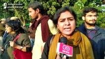 राजघाट जा रहे प्रदर्शनकारियों को दिल्ली गेट पर रोका गया