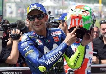Las últimas vueltas de Valentino Rossi