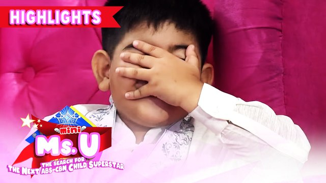 Yorme gets shy | It's Showtime Mini Miss U