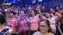 Hindi lang pa-abs may pa-flex din ang mga Hashtag habang kana mannequin challenge