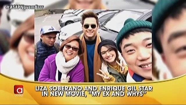Liza at Enrique, nagbigay ng update sa kanilang upcoming movie