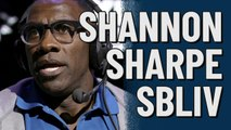 Shannon Sharpe at Super Bowl LIV